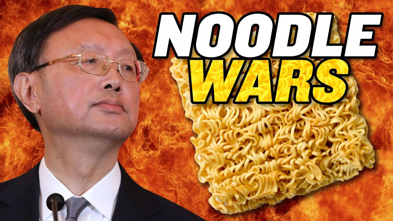 Instant Noodle Wars: US-China Meeting Turns into Propaganda Battlefield