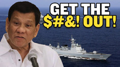 """Philippines FM Curses Out China """"GET THE $#&! OUT!"""" 