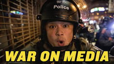 Podcast 118 Hong Kong's War on the Press | Epoch Times Reporter Attacked!