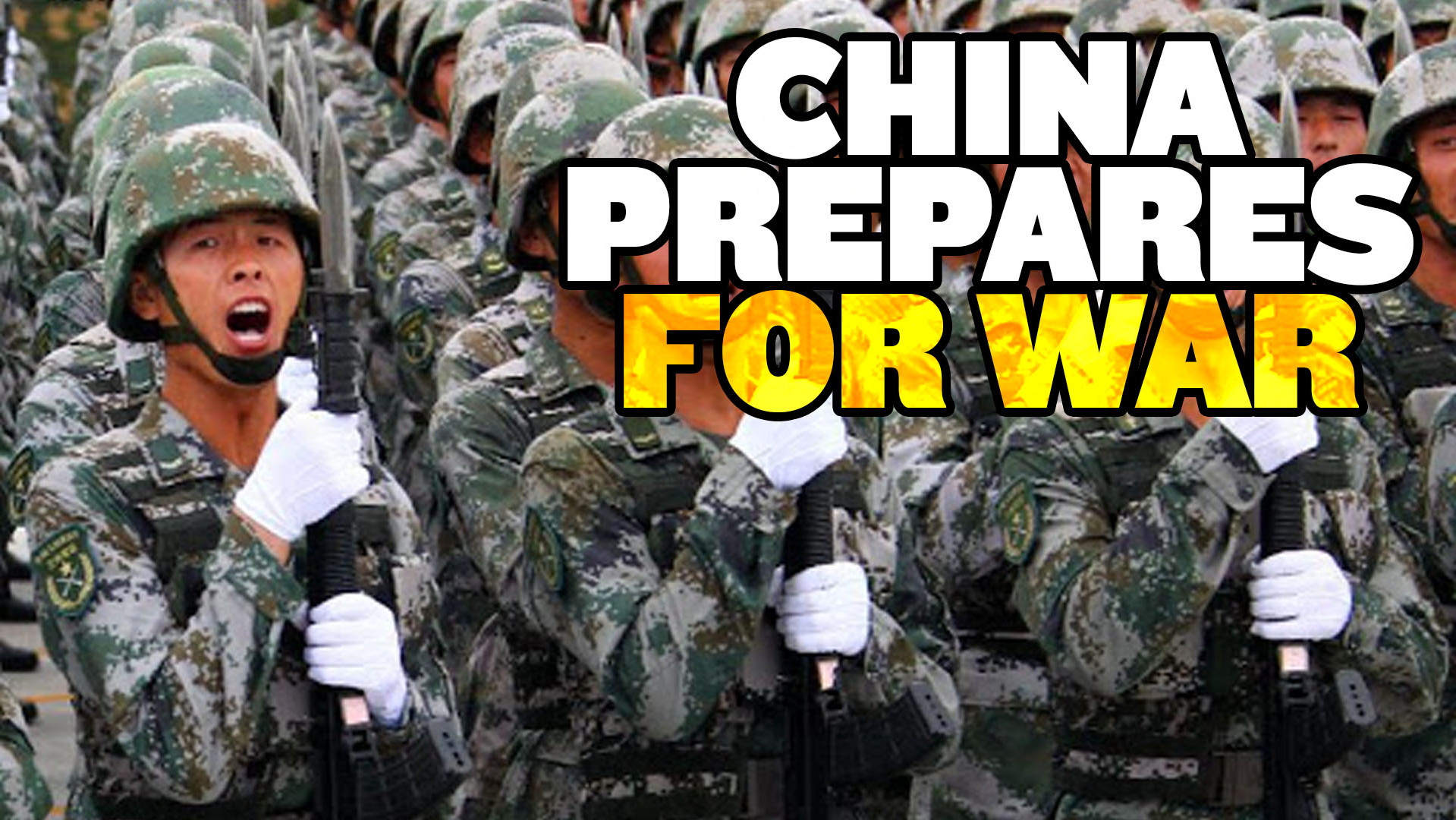 "China ""Prepares for War"" With US"