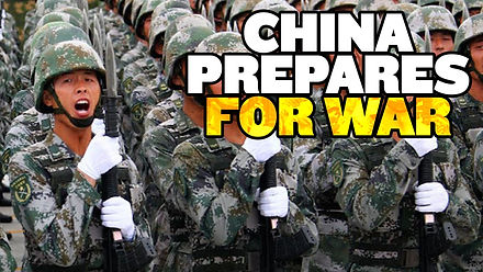 """China """"Prepares for War"""" With US"""