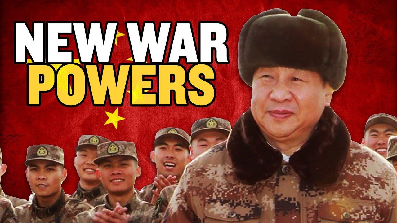 China's Xi Jinping Gets New War Powers