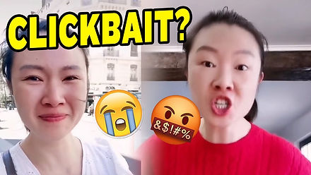 Chinese Vlogger Cries After Seeing a Bank