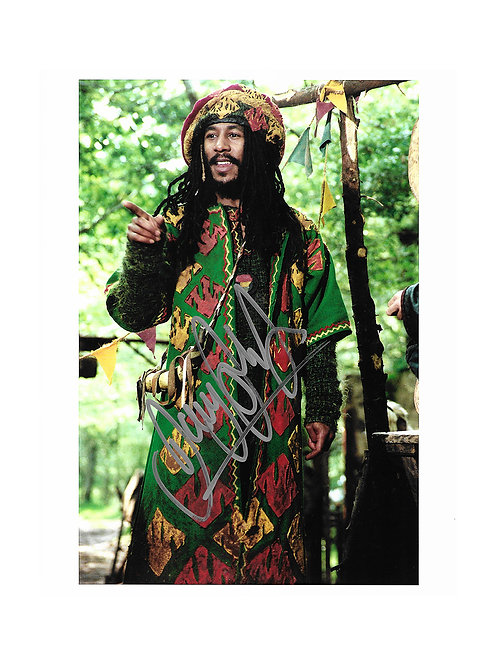 8x10 Maid Marian and Her Merry Men Print Signed by Danny John-Jules