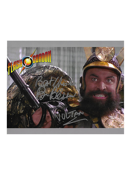 10x8 Flash Gordon Print Signed by Brian Blessed