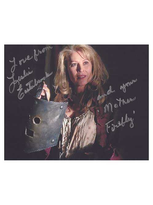 10x8 Quoted The Devil's Rejects Print Signed by Leslie Easterbrook