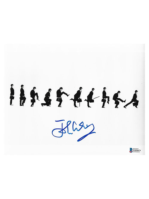 10x8 Monty Python Silly Walks Print Signed by John Cleese