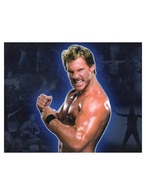 "10x8"" Unsigned WCW WWF Superstar Chris Jericho Print"