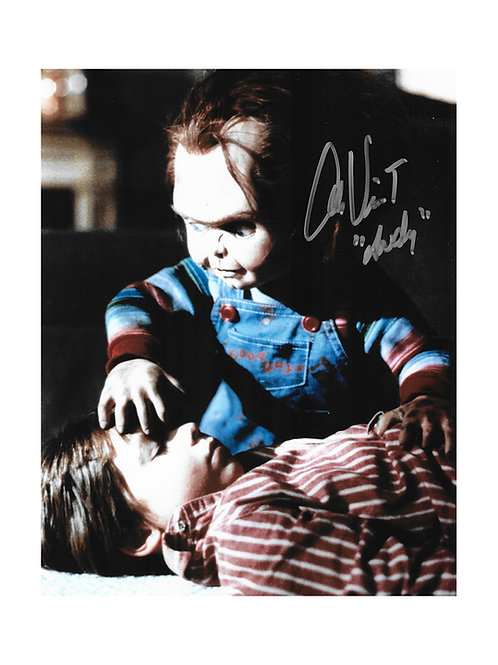 8x10 Child's Play Print Signed by Alex Vincent