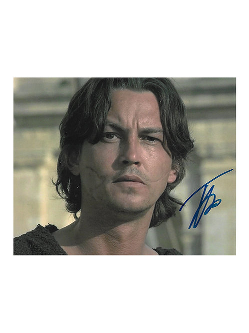 10x8 Gladiator Print Signed by Tommy Flanagan