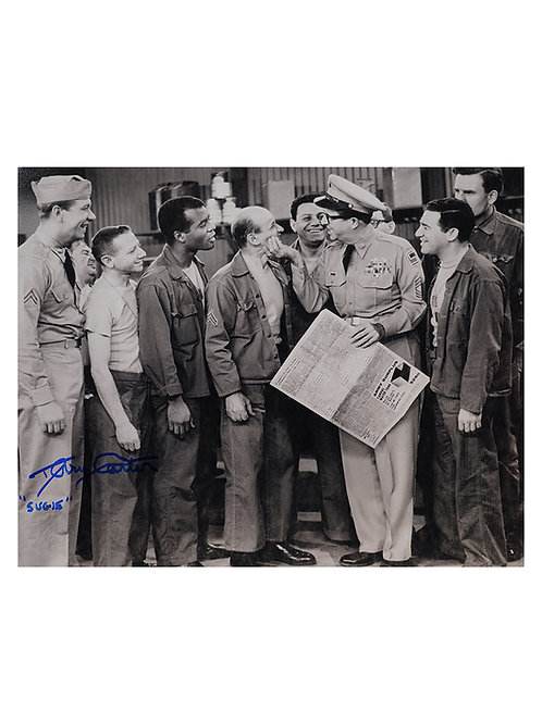 10x8 Phil Silvers Show Print Signed by Terry Carter