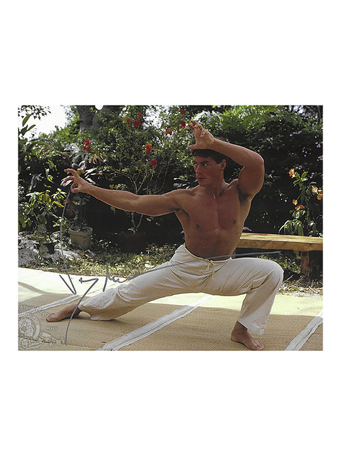 10x8 Bloodsport Print Signed by JCVD Jean-Claude Van Damme