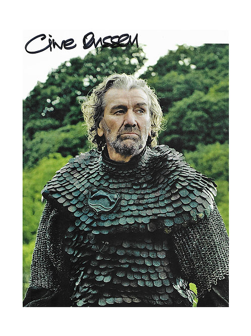 8x12 Game of Thrones Print Signed by Clive Russell