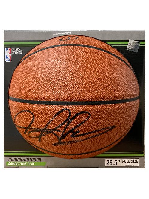Basketball Signed By Dennis Rodman
