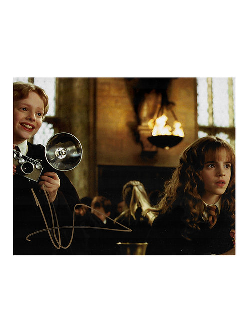 10x8 Harry Potter Print Signed by Hugh Mitchell