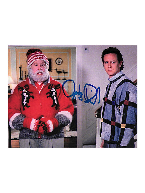 10x8 The Santa Clause Print Signed by Judge Reinhold