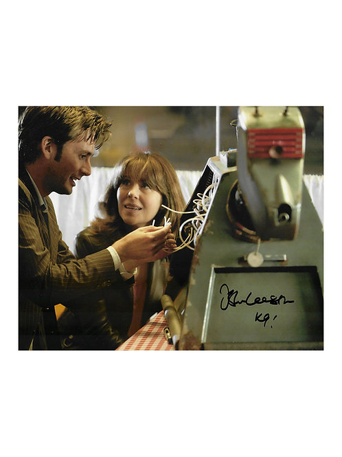 10x8 Doctor Who Print Signed by John Leeson