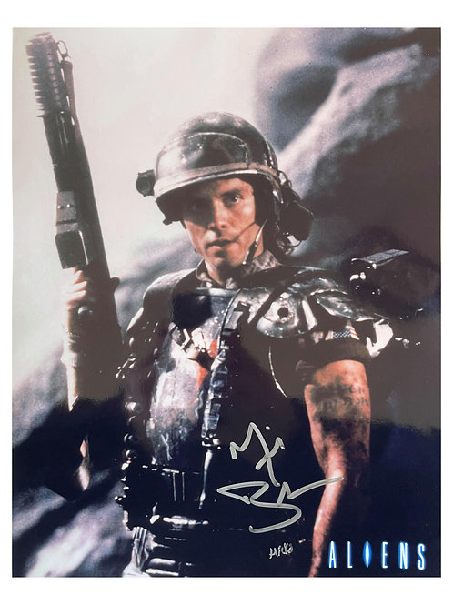 10x13 Aliens Print With Character Name Signed by Michael Biehn