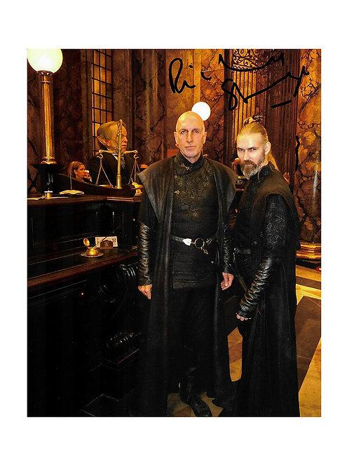 8x10 Harry Potter Print Signed by Richard Strange