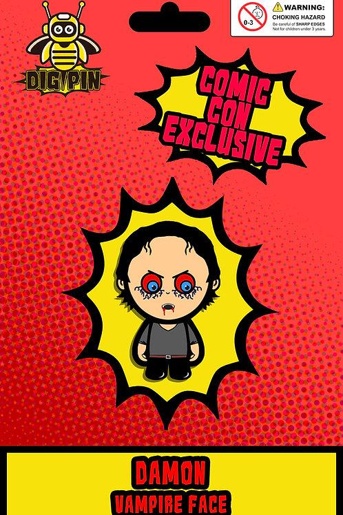 The Vampire Diaries/Originals Series Damon Vampire Face