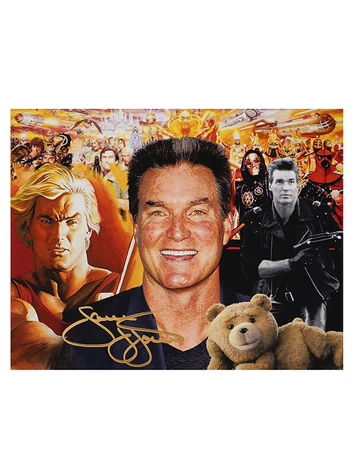10x8 Print Signed by Sam J Jones
