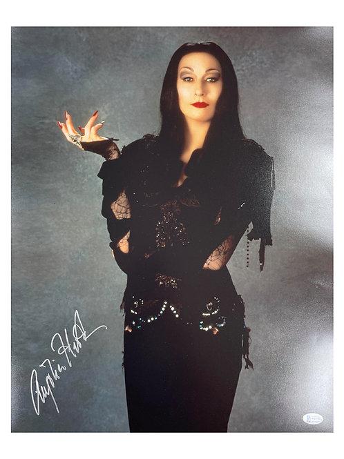 16x20 Morticia Addams Print Signed by Anjelica Huston