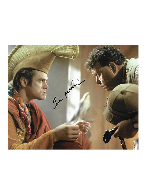 10x8 Ace Ventura Print Signed by Ian McNeice