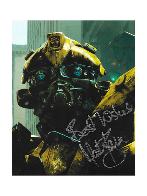 8x10 Transformers Bumblebee Print Signed by Mark Ryan