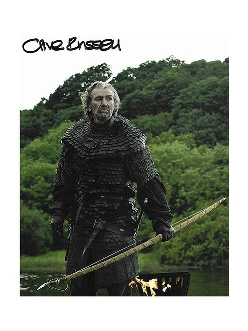 8x10 Game of Thrones Print Signed by Clive Russell