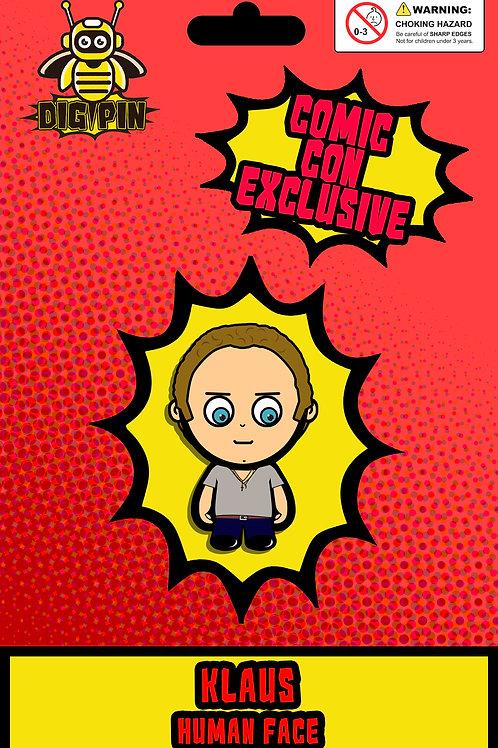 The Vampire Diaries/Originals Series Klaus Human Face