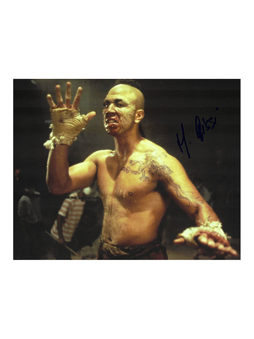 10x8 Kickboxer Tong Po Print Signed by Michel Qissi