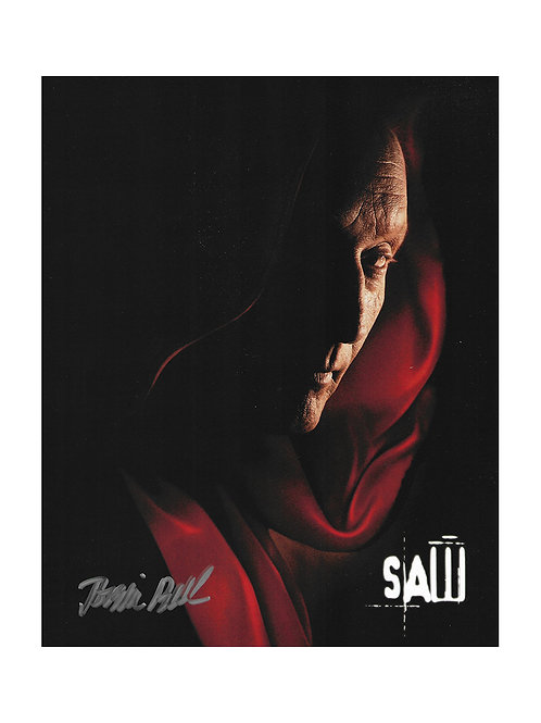 8x10 Saw Print Signed by Tobin Bell