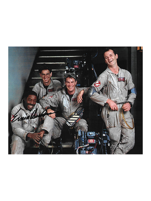 10x8 Ghostbusters Print Signed by Ernie Hudson