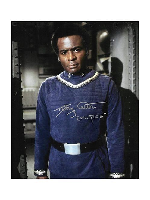 8x10 Battlestar Galactica Print Signed by Terry Carter