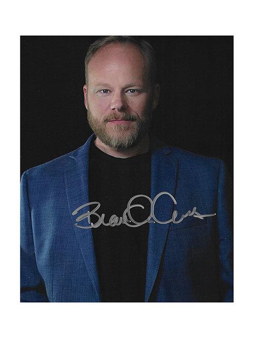 8x10 Print Signed by Brandon Crane