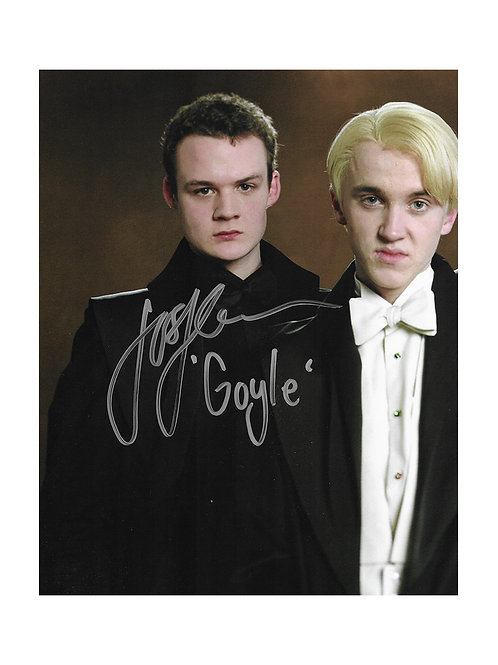 8x10 Harry Potter Print Signed by Josh Herdman