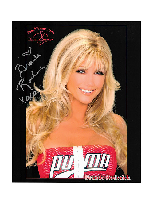 8x10 Print Signed by Brande Roderick