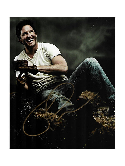 8x10 Print Signed by Peter Facinelli
