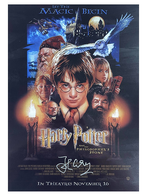 A3 Harry Potter Poster Signed by John Cleese