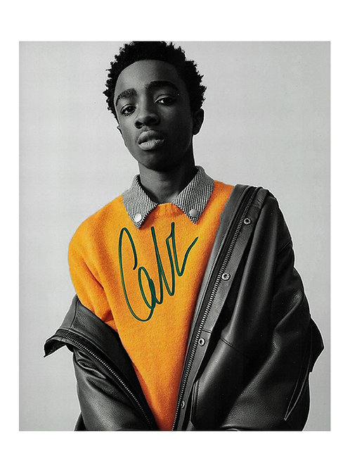 8x10 Print Signed by Caleb McLaughlin