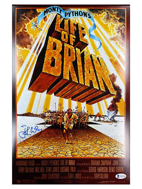 11x17 Monty Python's Life of Brian Poster Signed by John Cleese