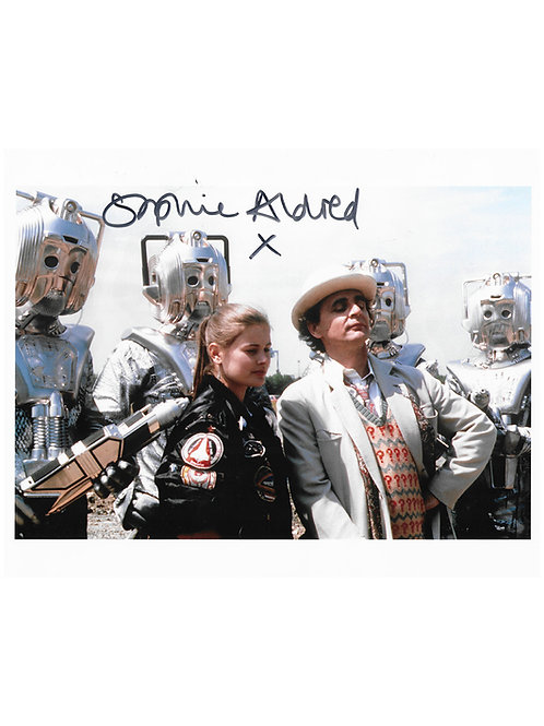 10x8 Doctor Who Print Signed by Sophie Aldred
