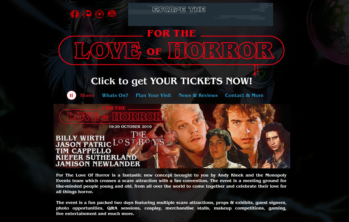 FrightFest | For the Love of Horror | Manchester