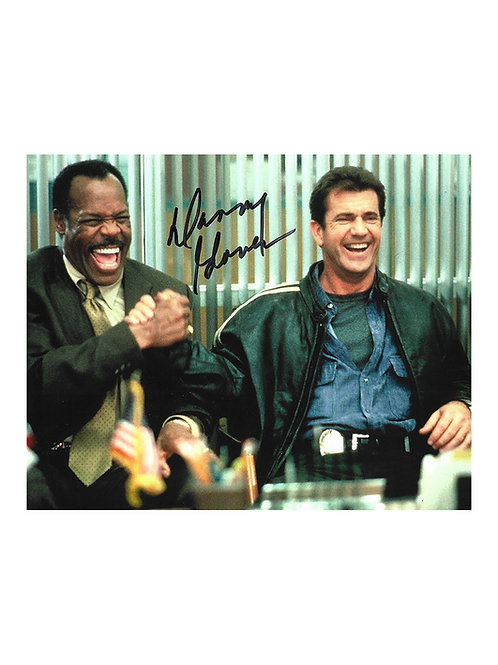 10x8 Lethal Weapon 4 Print Signed by Danny Glover