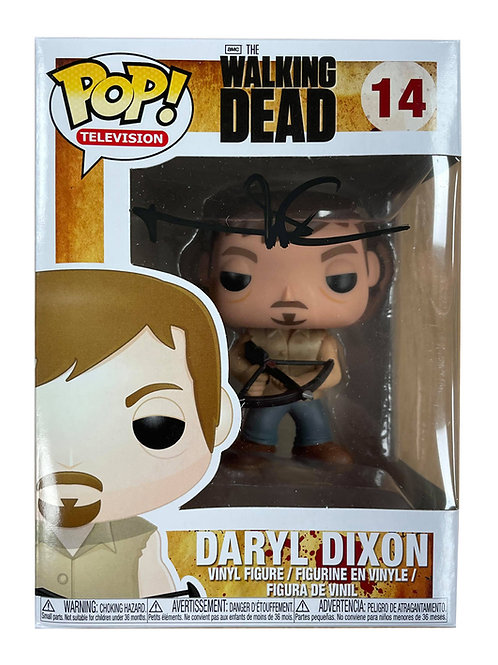 The Walking Dead #14 Daryl Dixon Funko Pop Signed by Norman Reedus