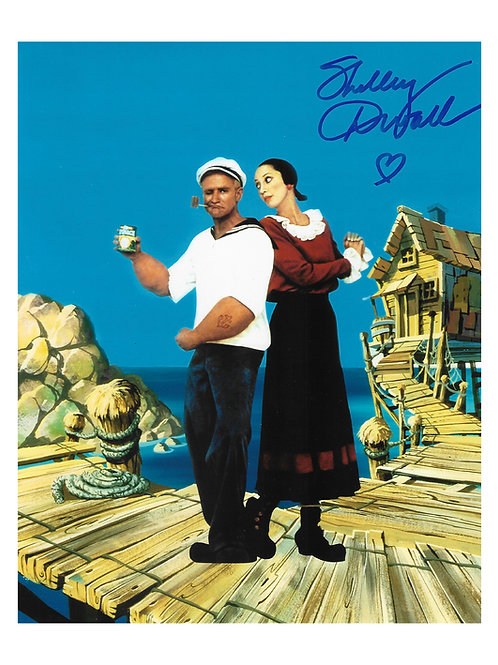 8x10 Popeye Print Signed by Shelley Duvall