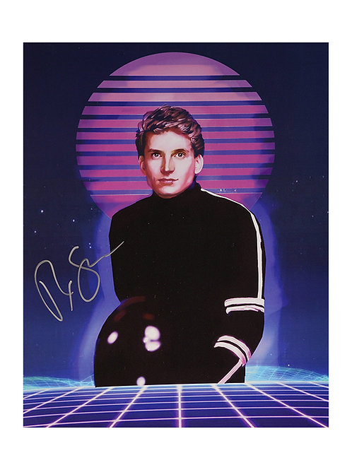 8x10 Streethawk Print Signed by Rex Smith