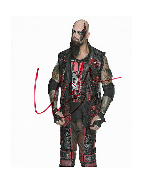8x10 Print Signed by Wrestling Superstar Luke Gallows