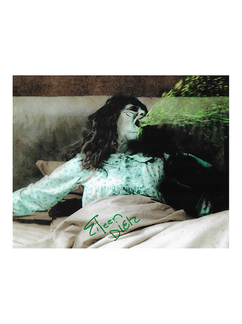 10x8 The Exorcist Print Signed by Eileen Dietz