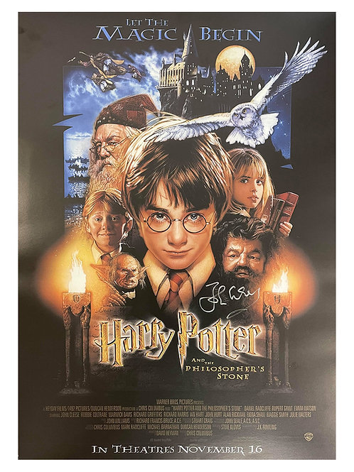 A2 Harry Potter Poster Signed by John Cleese